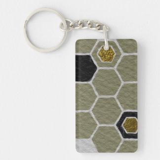 Upstanding Sensitive Dazzling Agree Single-Sided Rectangular Acrylic Keychain