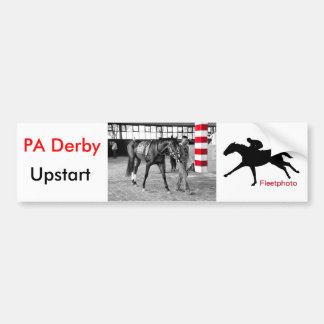 Upstart - Pennsylvania Derby Bumper Sticker