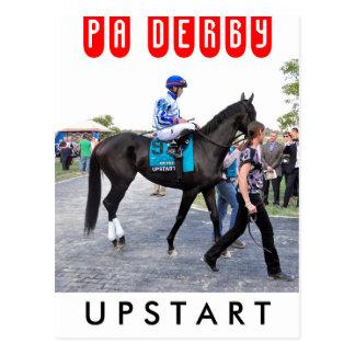 Upstart - Pennsylvania Derby Postcard