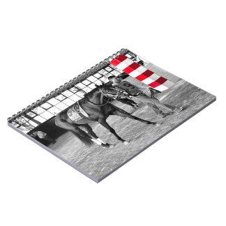 Upstart - Pennsylvania Derby Spiral Notebook