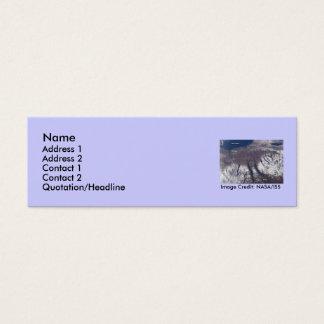 Upstate New York Fingerlakes Mini Business Card