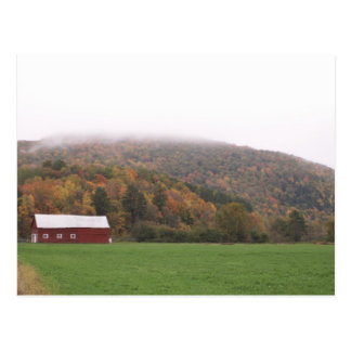 Upstate NY in the Fall  Postcard