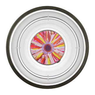 Upsy Daisy Dog Bowl, acrylic Pet Bowl