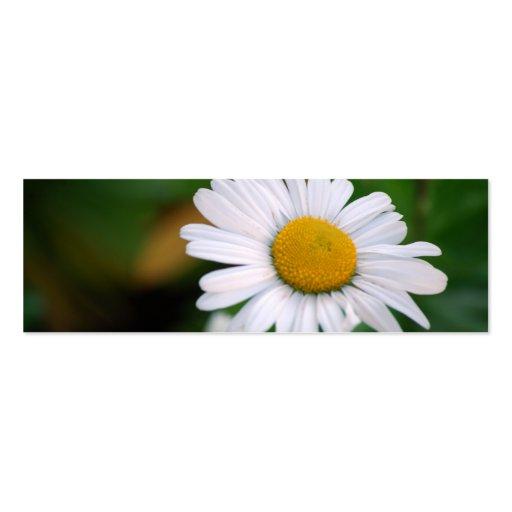 Upsy-Daisy [Skinny] Business Cards