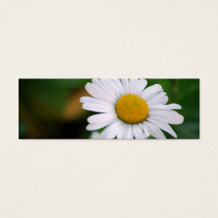 Long beach business cards templates zazzle upsy daisy skinny mini business card colourmoves Image collections
