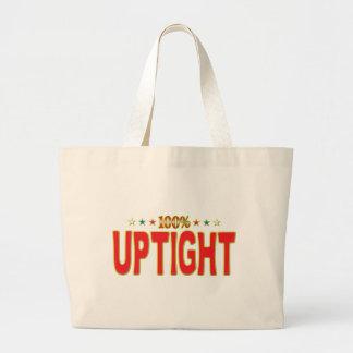 Uptight Star Tag Tote Bags