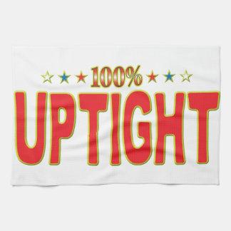 Uptight Star Tag Kitchen Towel