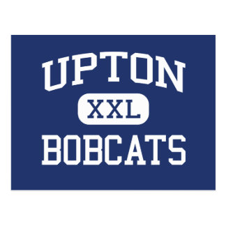 Upton Bobcats Middle School Upton Wyoming Postcard