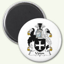Upton Family Crest Magnet