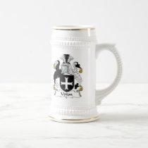 Upton Family Crest Mug