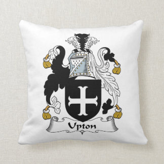 Upton Family Crest Pillow