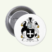 Upton Family Crest Button