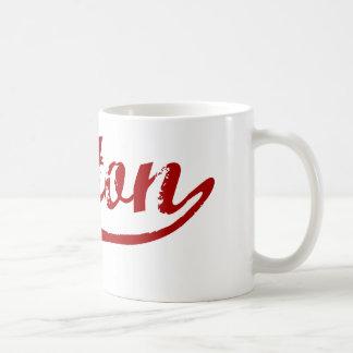 Upton Massachusetts Classic Design Coffee Mug