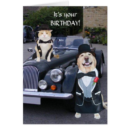Uptown Birthday Card