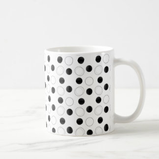 Uptown Bliss Mug, Black and White Coffee Mug