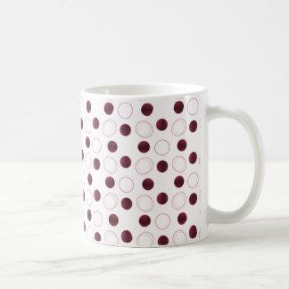 Uptown Bliss Mug, Burgundy Coffee Mug