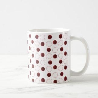 Uptown Bliss Mug, Dark Red Coffee Mug