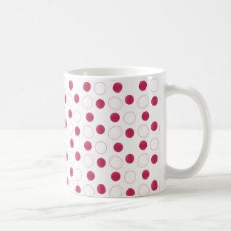 Uptown Bliss Mug, Magenta Coffee Mug