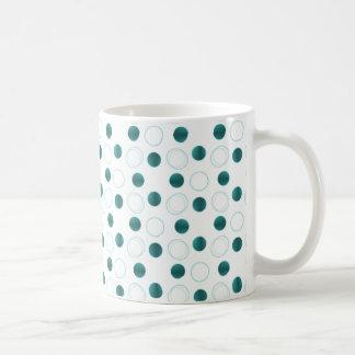 Uptown Bliss Mug, Teal Coffee Mug