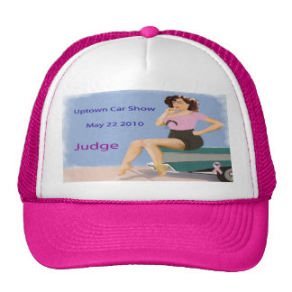 Uptown Car Show Hat Judge
