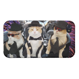 Uptown Cats iPhone 4 Cases