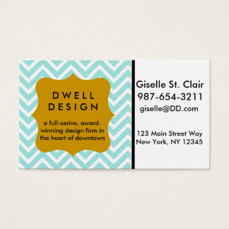 Uptown Chevron Business Cards