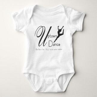 Uptown Dance Logo Baby Bodysuit