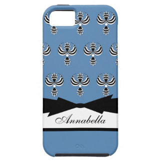 UPTOWN GIRL  155 BLUE #5 iPhone SE/5/5s CASE