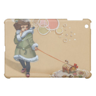 Uptown Girl and her Kookie Cat Case For The iPad Mini