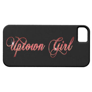 Uptown Girl iPhone 5 Cases