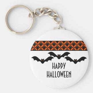 Uptown Glam Bats Halloween Keychain