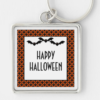 Uptown Glam Bats Halloween Premium Keychain