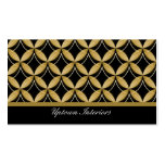Uptown Glam Business Card, Gold