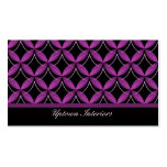 Uptown Glam Business Card, Purple