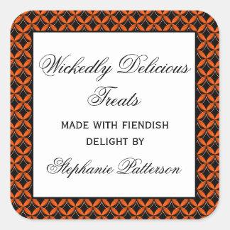 Uptown Glam Fancy Halloween Baking Stickers