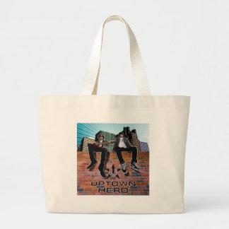Uptown Hero LP cover Jumbo Tote Bag
