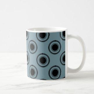 Uptown Hipster Mug, Blue Coffee Mug