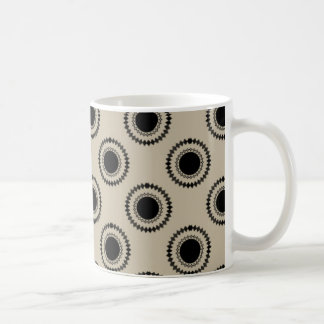 Uptown Hipster Mug, Latte Coffee Mug