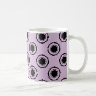 Uptown Hipster Mug, Lavender Coffee Mug
