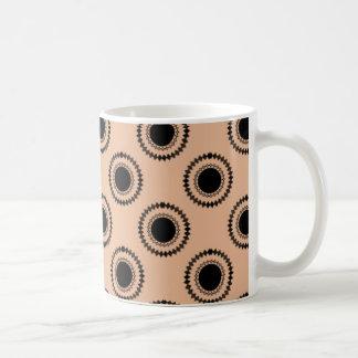 Uptown Hipster Mug, Light Coral Coffee Mug