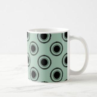 Uptown Hipster Mug, Sage Coffee Mug