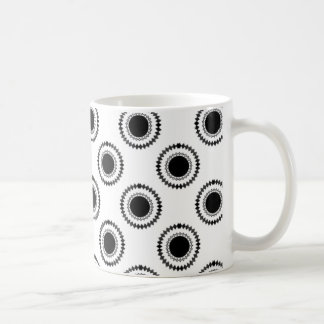 Uptown Hipster Mug, White Coffee Mug