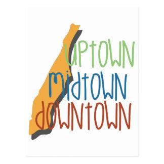 Uptown Midtown Postcard
