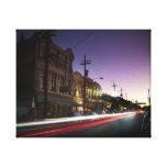 uptown New Orleans Sunset Canvas