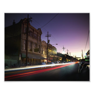 Uptown New Orleans Sunset Print Photo Print