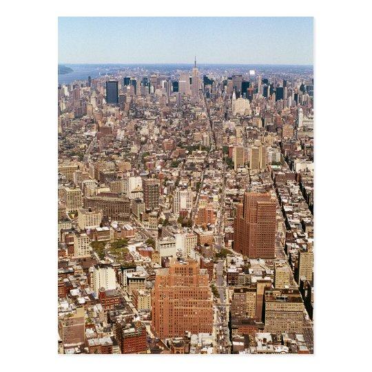 Uptown Panoramic Postcard