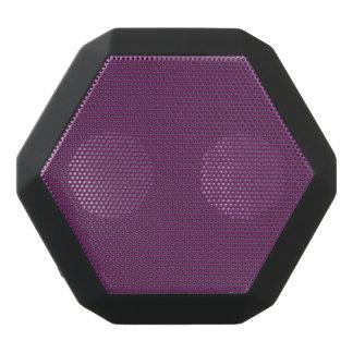 Uptown Purple-Royal Purple-Uptown Girl-Designer Black Bluetooth Speaker