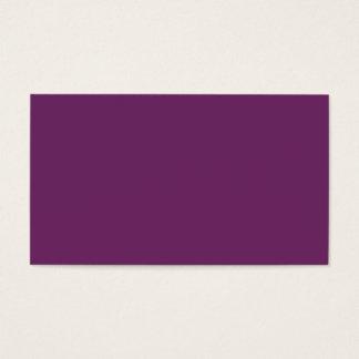 Uptown Purple-Royal Purple-Uptown Girl-Designer Business Card