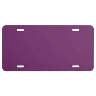 Uptown Purple-Royal Purple-Uptown Girl-Designer License Plate