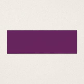 Uptown Purple-Royal Purple-Uptown Girl-Designer Mini Business Card